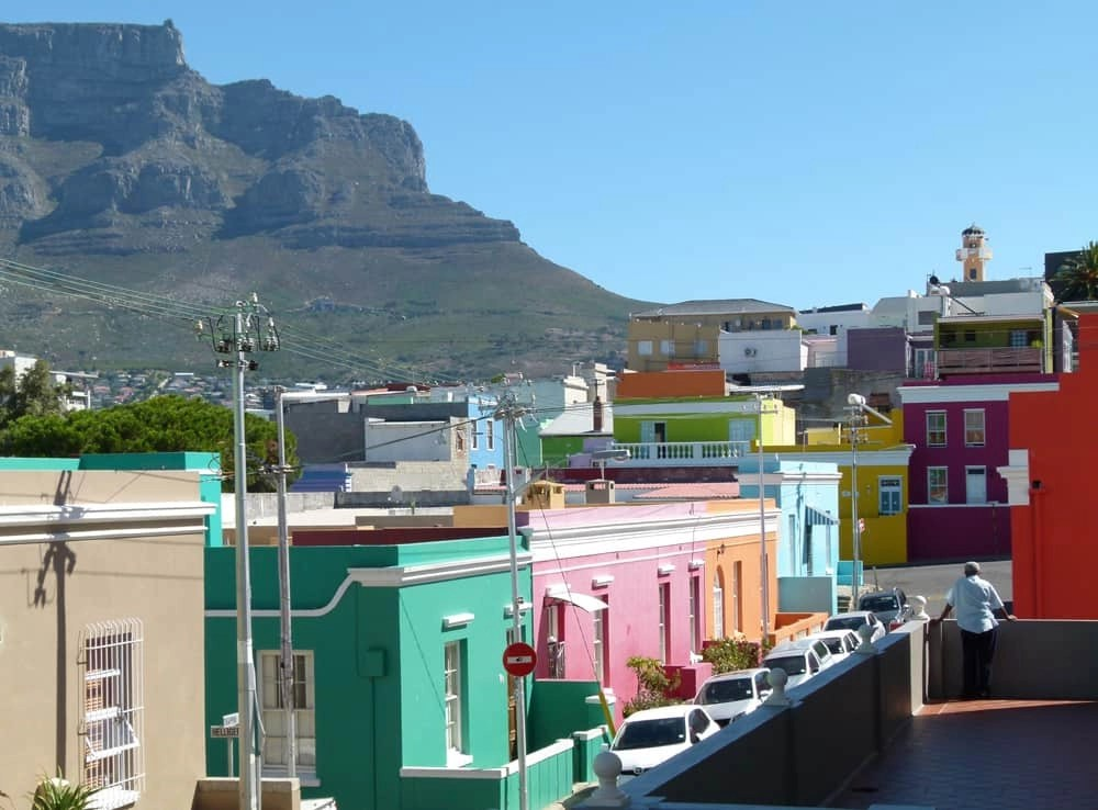 Bo-Kaap district of Cape Town