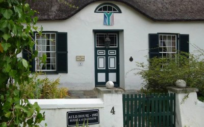 A Rich Heritage: The Cape Dutch Buildings of Swellendam