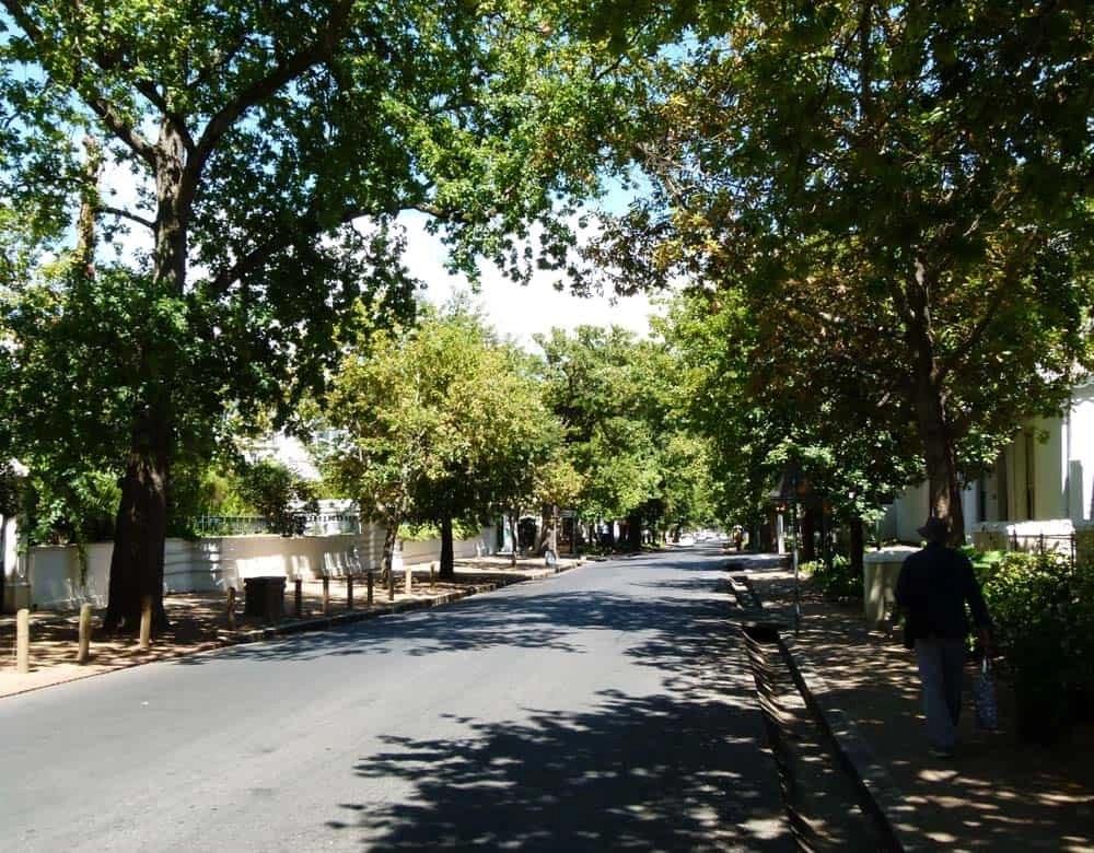 Dorp Street, Stellenbosch