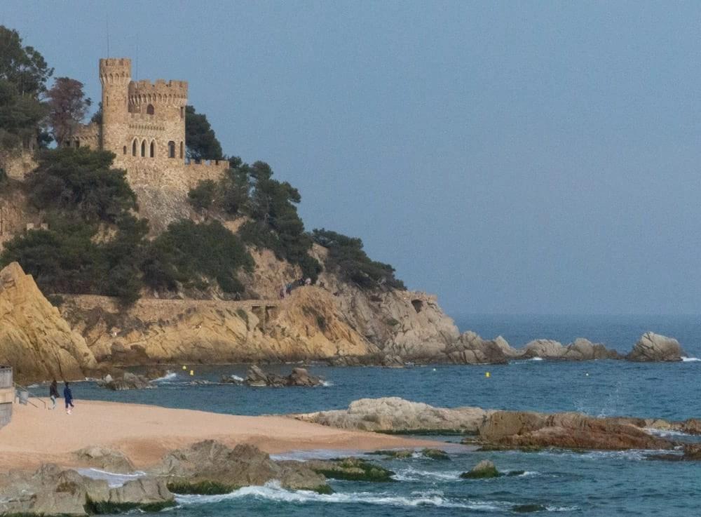 D'en Plaja Castle, Lloret de Mar
