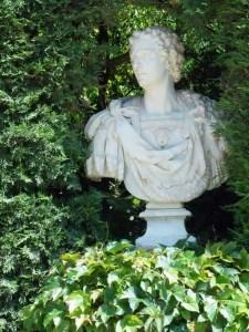 Statue at the Santa Clotilde Gardens, Lloret de Mar