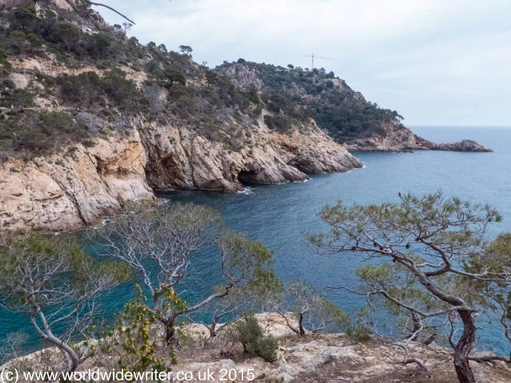 Hking around Tossa de Mar: along the coastal path