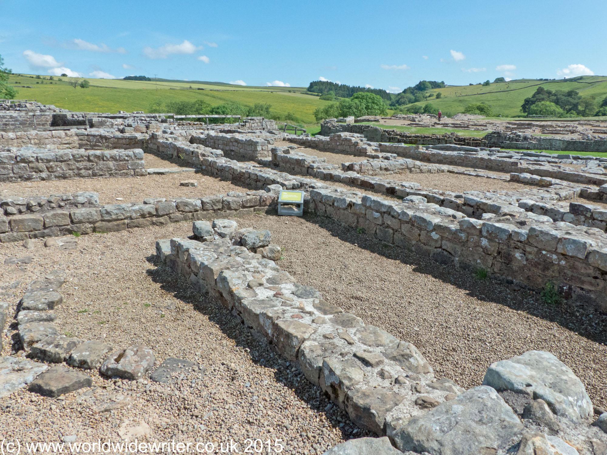 History and archaeology at vindolanda roman fort history of vindolanda roman fort stopboris Images