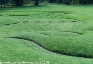 Saffron Walden maze - www.worldwidewriter.co.uk