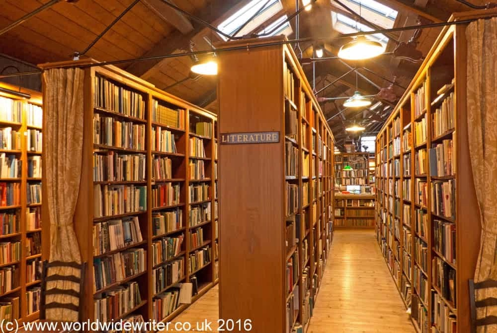 Bookshop in Hay-on-Wye