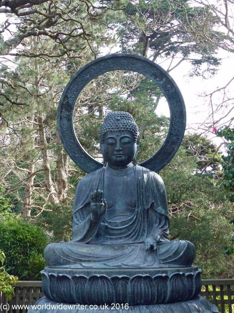 Buddha in the Japanese Tea Garden