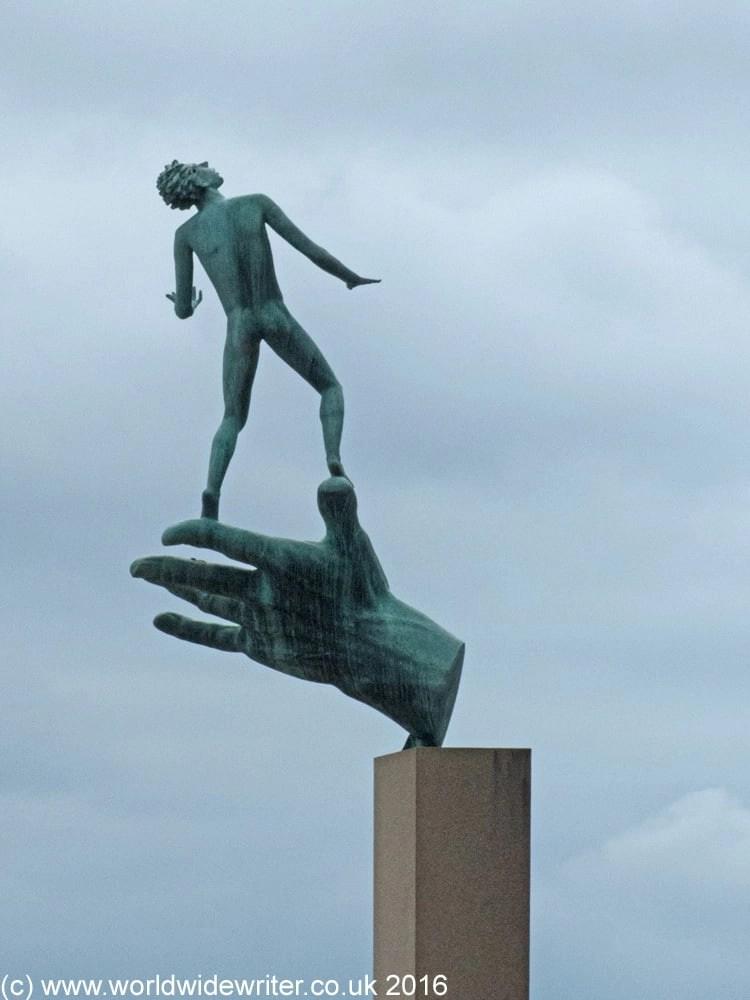 Hand of God, Millesgården, Stockholm