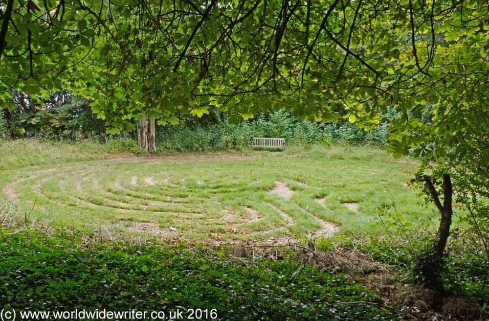 Troy Town labyrinth, Somerton