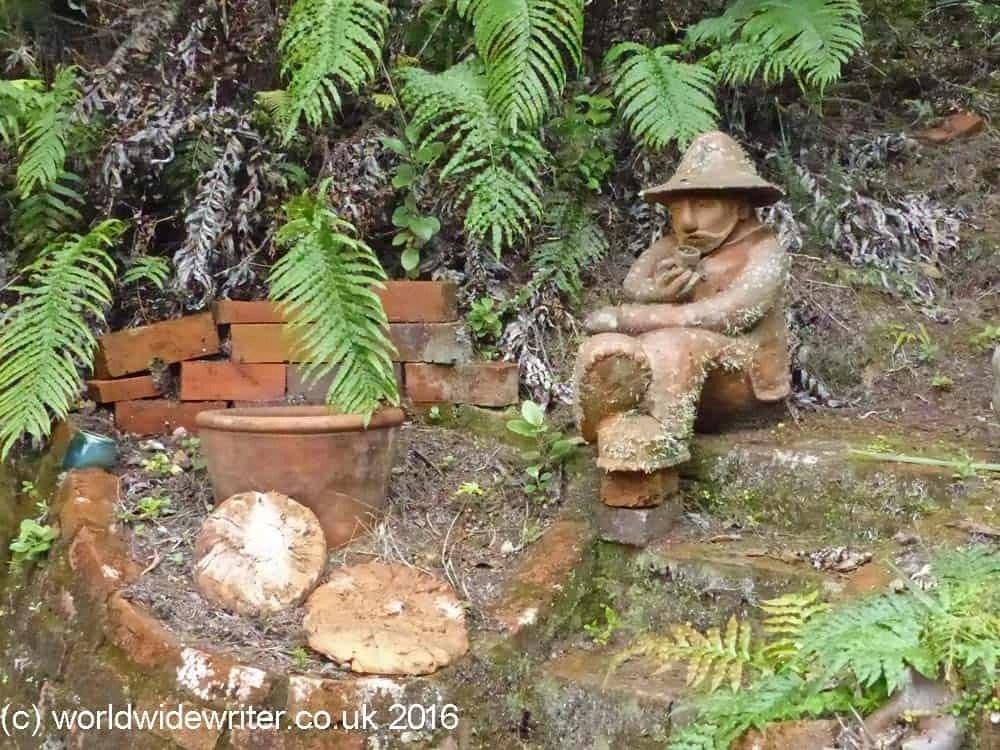 Pottery figure, Driving Creek Railway