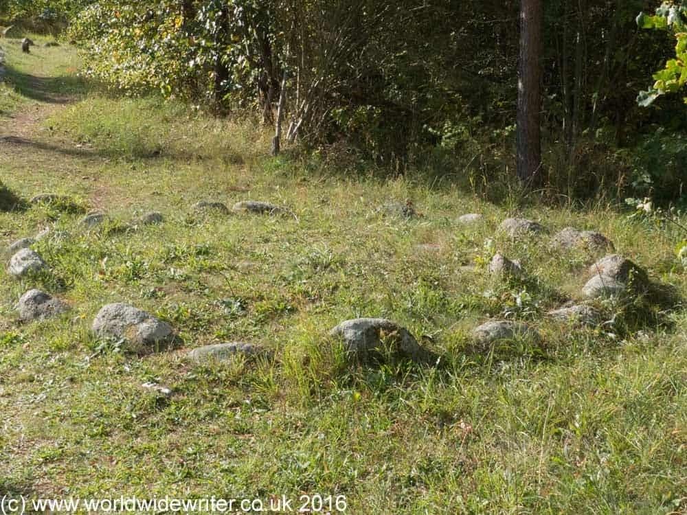Stone circle, Gnisvärd, Gotland