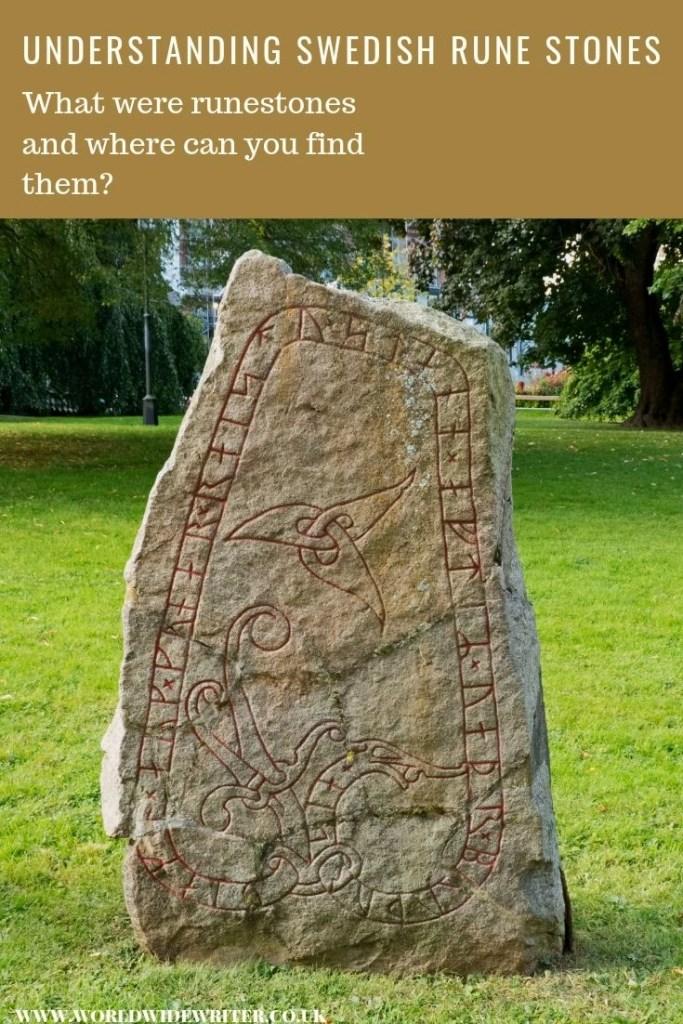 Rune stone in Uppsala, Sweden