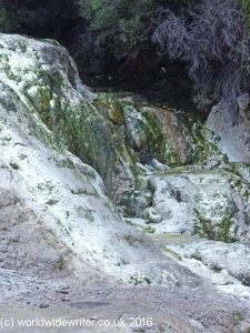 Bridal Veil Falls, Waiotapu