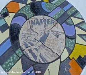 Plaque in Napier