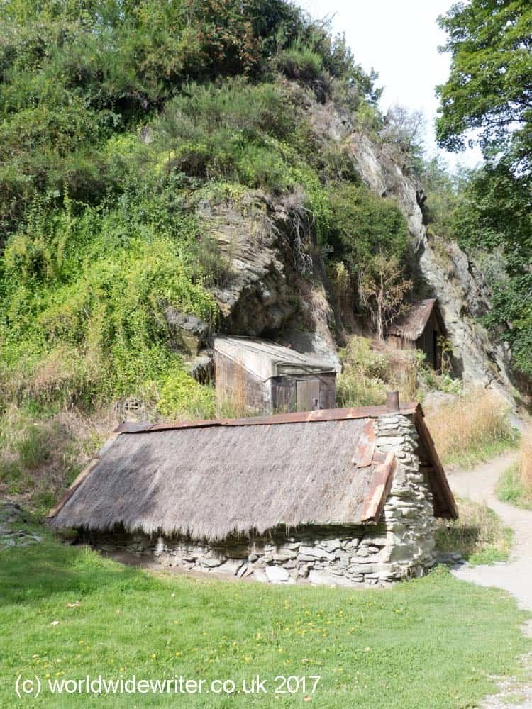 Chinese miners' huts, Arrowtown