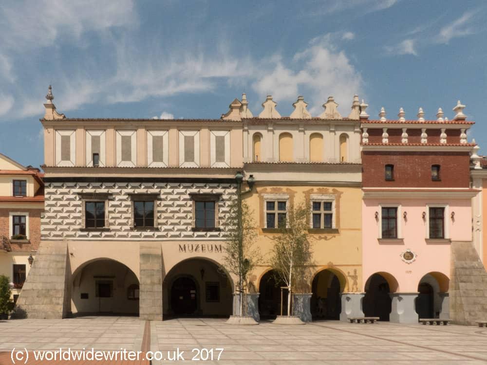 Tarnow town square