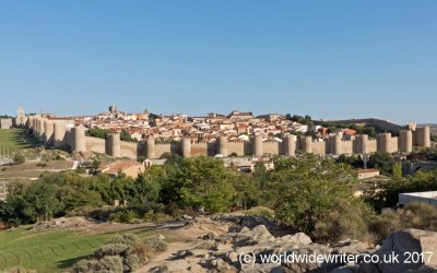 Walking Around the Medieval Walls of Avila