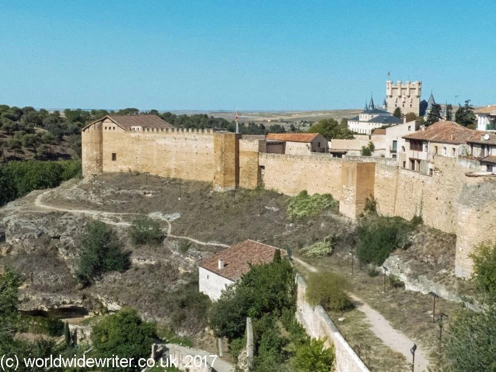 Alcazar and Walls, Segovia