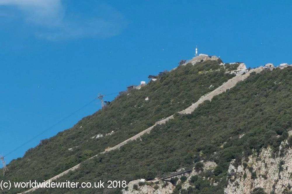 Charles V Wall, Gibraltar