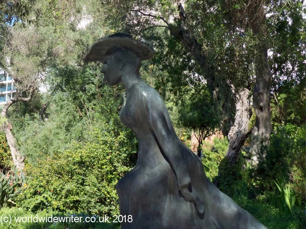 Statue of Molly Bloom