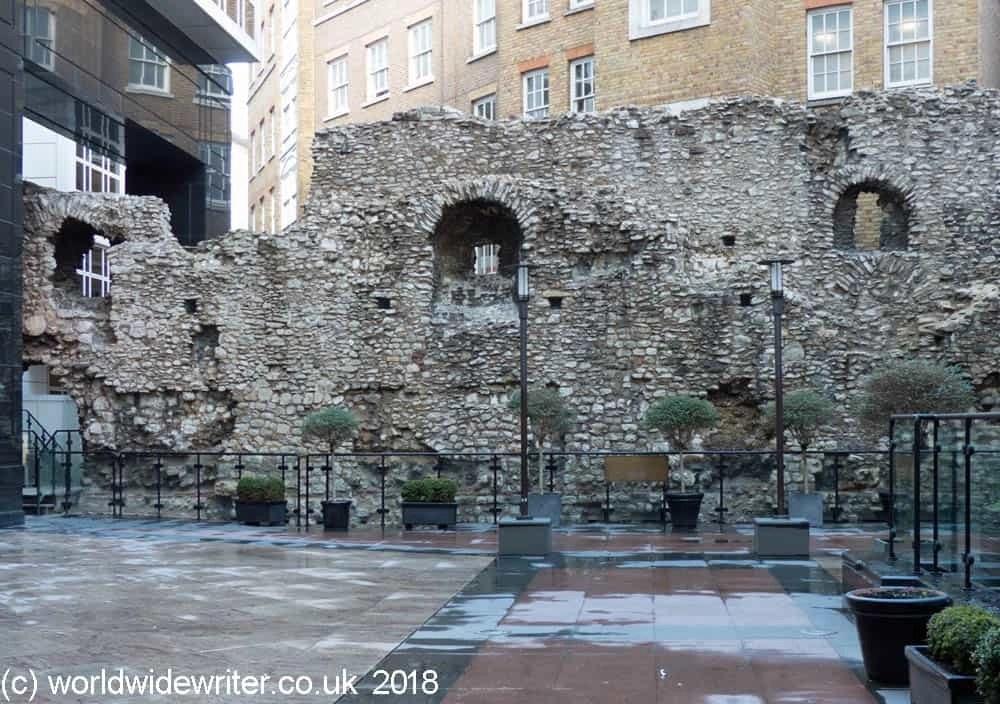 Roman Wall, London