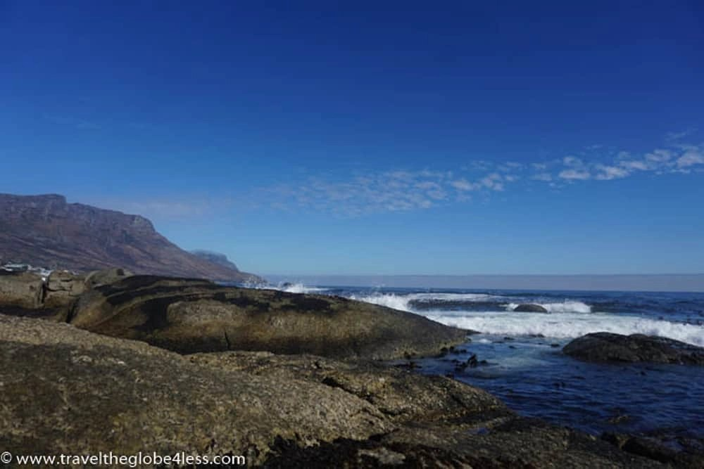 Coastal scenery of Cape Town