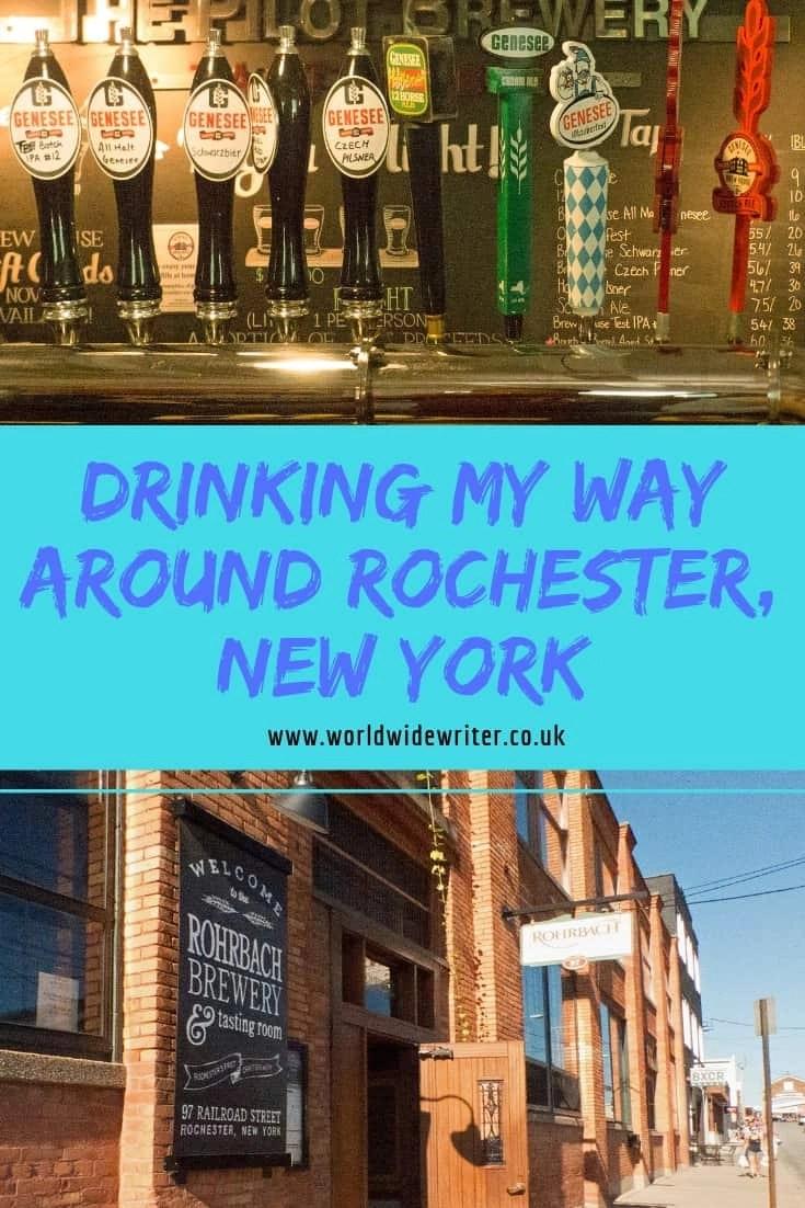 Drinking My Way Around Rochester