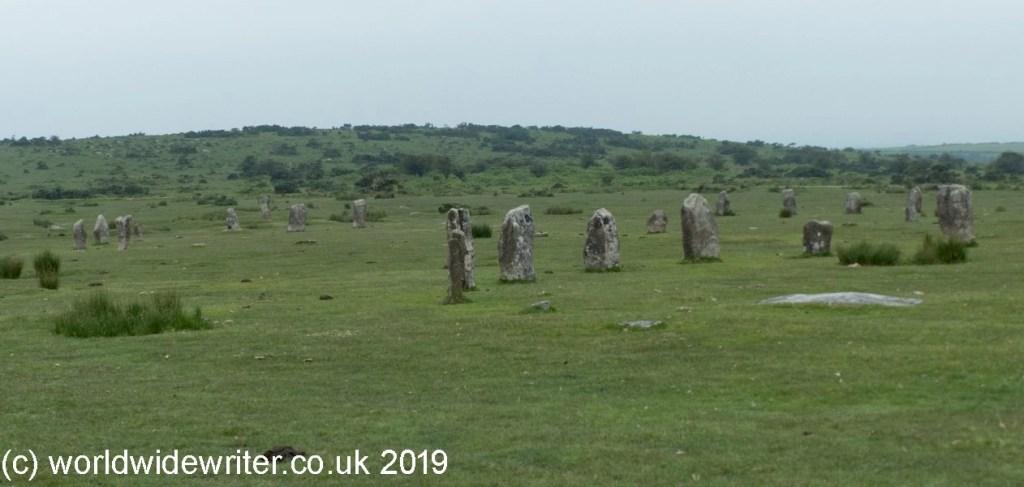The Hurler Stone Circles, Cornwall