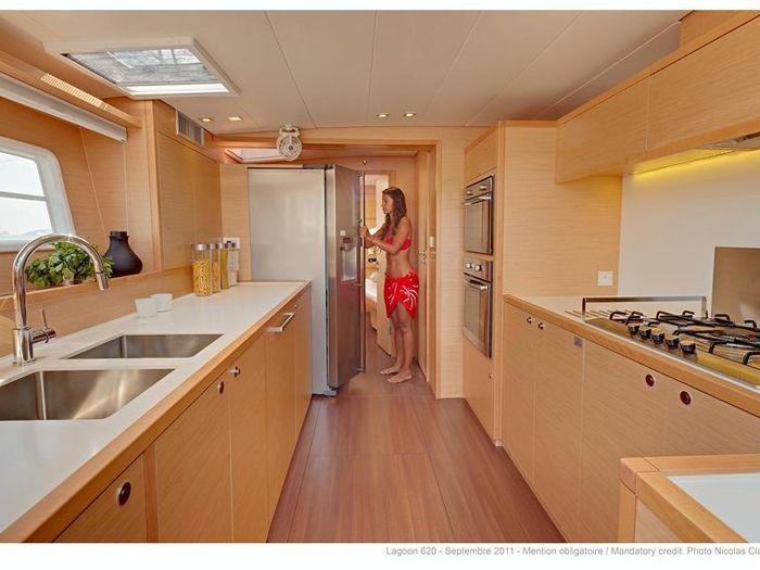 kitchen design layouts under cabinet lighting options lagoon 620 5 cabins version for sale