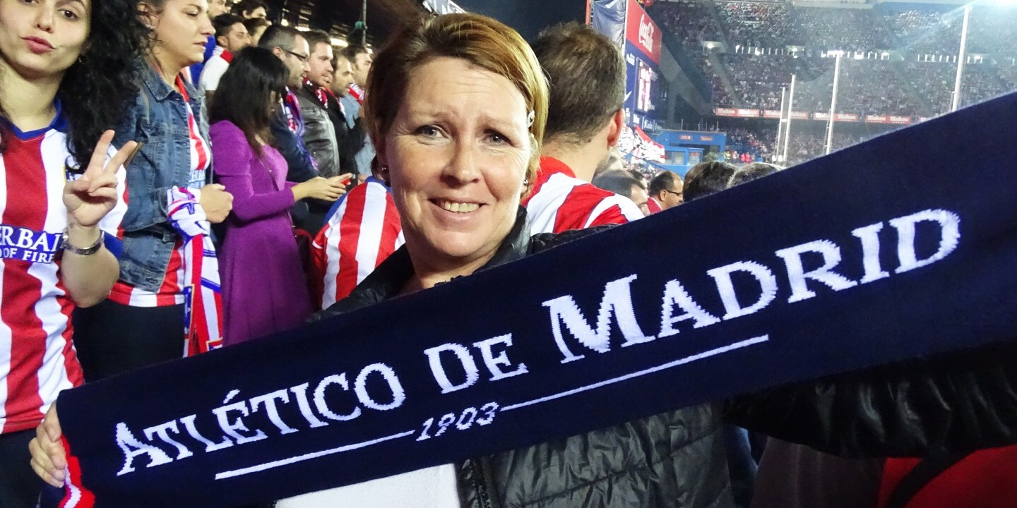 Atlético Madrid Estadio Vicenze Calderón