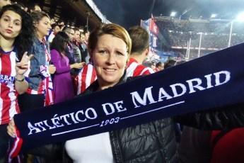 Atlético Madrid Estadio Vicenze Calderón