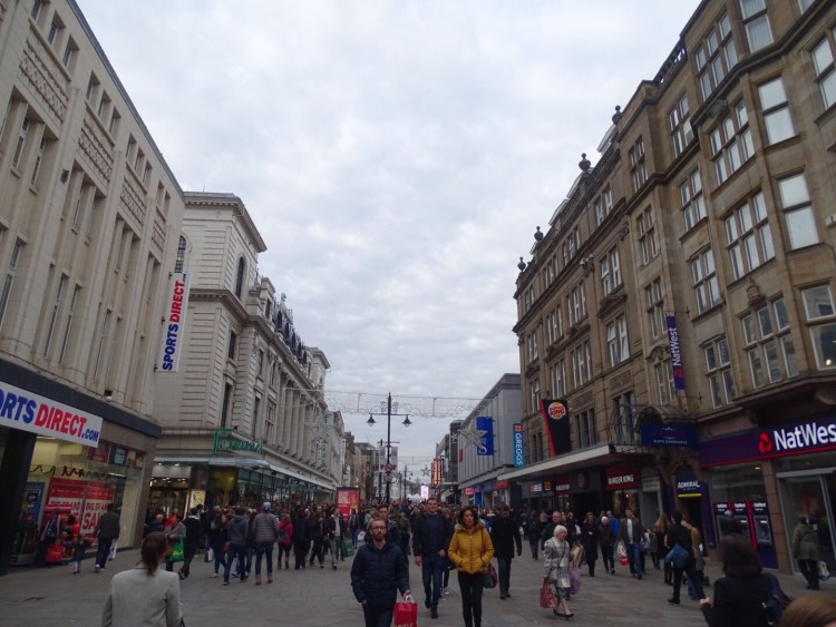 shoppen in newcastle