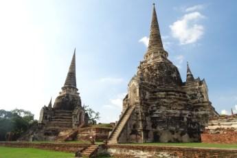 tempelstad ayutthaya