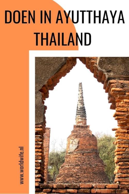 Op zoek naar tips voor Ayutthaya in Thailand? Ga tempelhoppen met een tuktuk en bezoek de mooiste tempels.