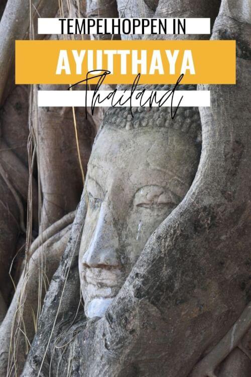 Ga met een tuk tuk tempelhoppen langs de mooiste tempels van Ayutthaya, Thailand