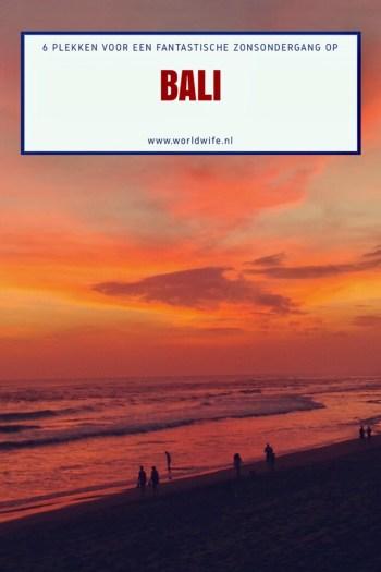 6 plekken voor een fantastische zonsondergang op Bali | www.worldwife.nl