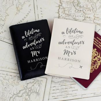 gepersonaliseerd paspoorthoesje