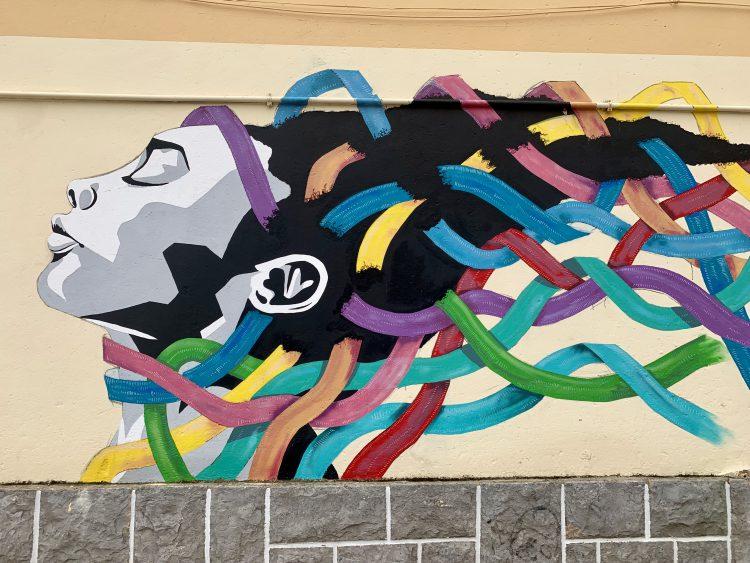 street art in Cascais