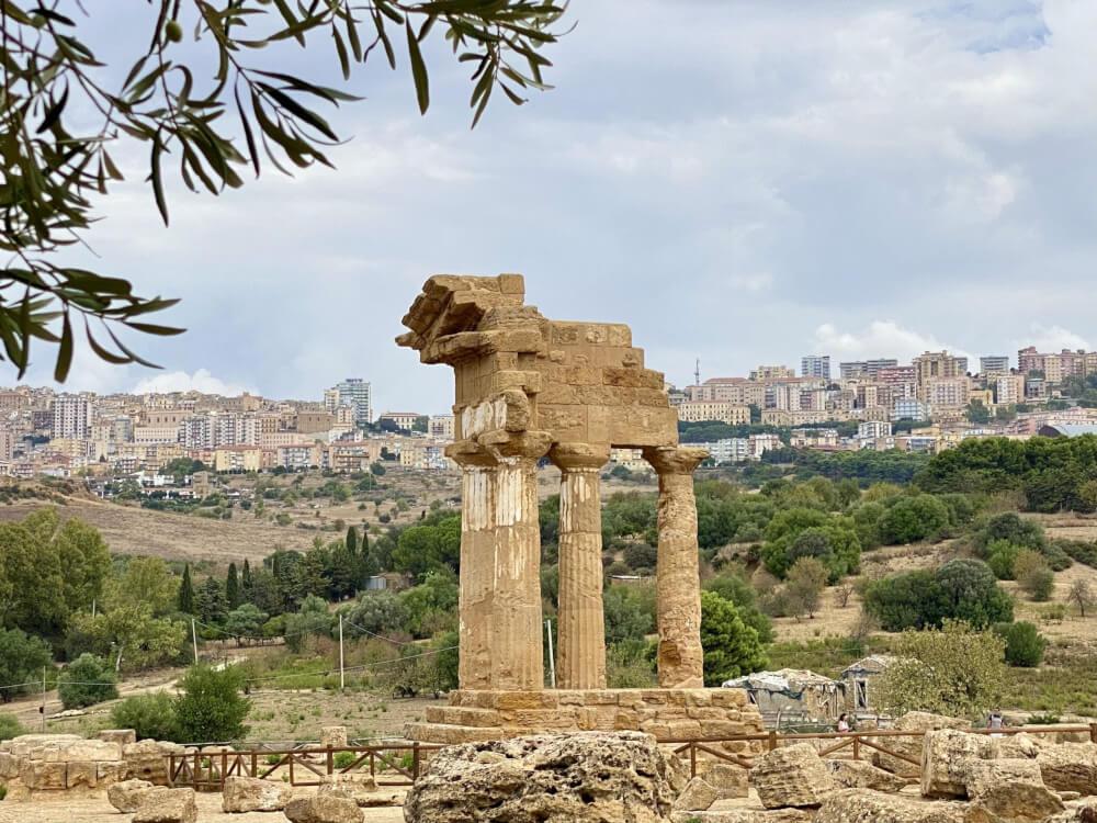 Valle dei templi, Agrigento, Sicilië