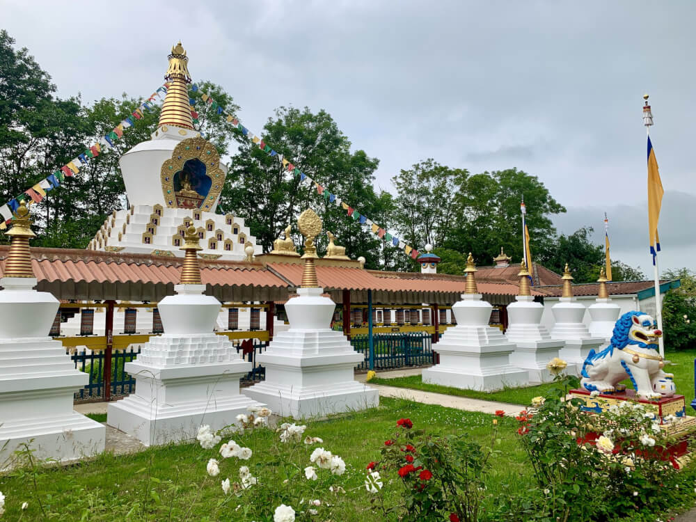 Klein Tibet in Friesland: een boeddhistische tempel in Hattum