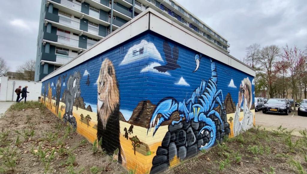 street art en graffiti in Boxtel