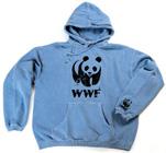WWF Panda Logo Blue Sweatshirt