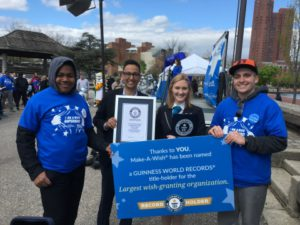 Make-A-Wish Sets GUINNESS WORLD RECORDS