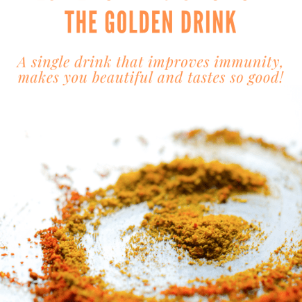 Recipe for Magic Potion- Golden Drink.