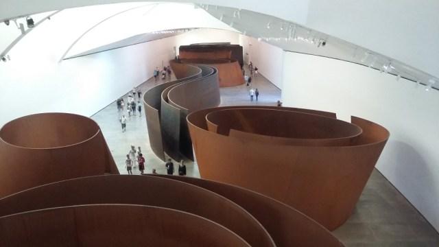 La matière du temps de Richard Serra ©Benjamin Aleberteau/Wordlzine;fr