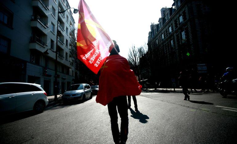 17 Mars 2016: Tous les horizons politiques de gauche seront représentés durant la mobilisation.© Jérémie Verchere/Wostok Press