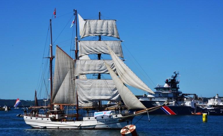 Le Loth Lorien, un navire hollandais © Cyrill Roy