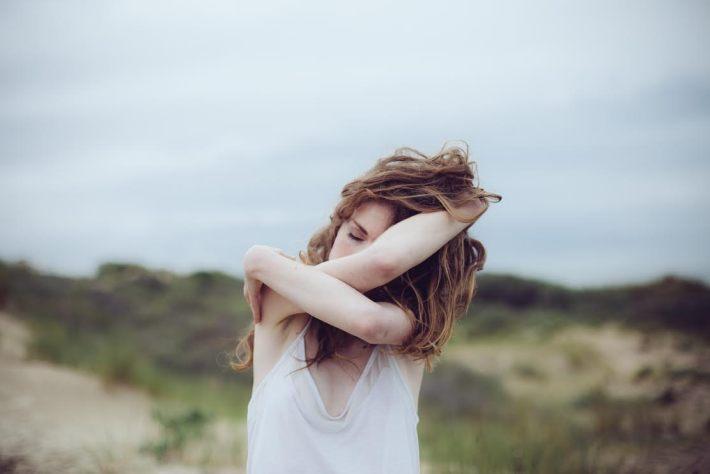 Coralie Hedouin est également modèle photo sur de nombreux shootings © Alexandre de Marco