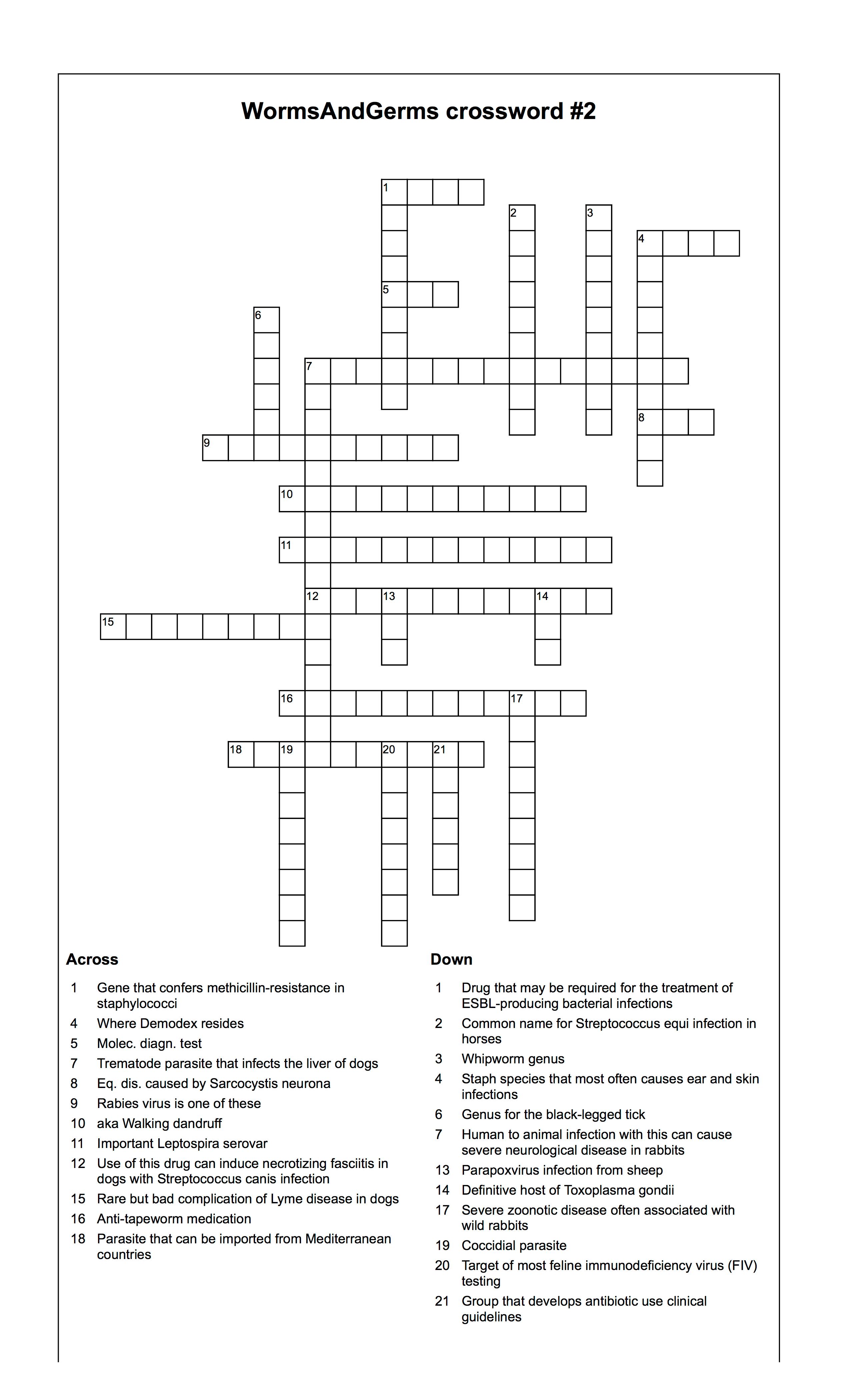 Crossword 2