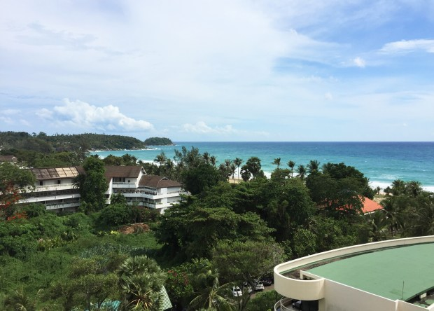 View of the Andaman Sea from our hotel room | Hilton Arcadia Resort & Spa | Karon Beach | Phuket | Thailand