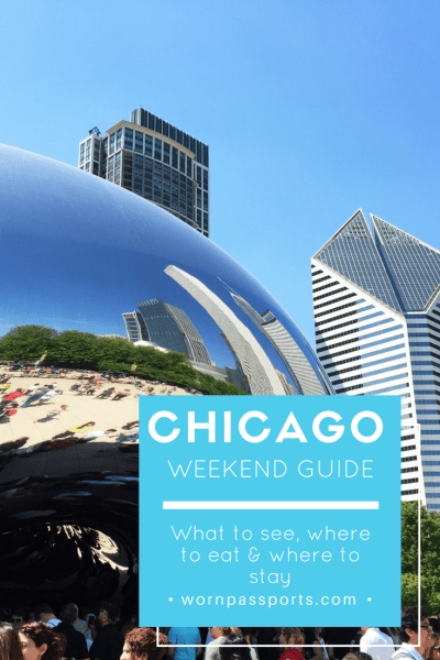 Travel guide to visit Chicago, Illinois: Visit iconic Chicago tourist sights & eat deep dish pizza. | wornpassports.com